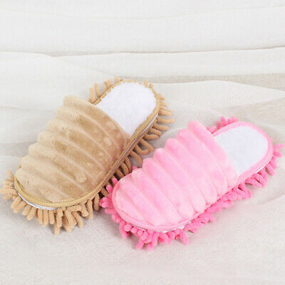 £7.82 • Buy Mop Slippers Home Dust Remover Floor Cleaning Shoes Foot Socks Lazy Tools