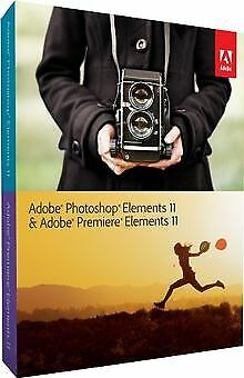 £49.42 • Buy Adobe Photoshop & Adobe Premiere Elements 11 By A... | Software | Condition Good