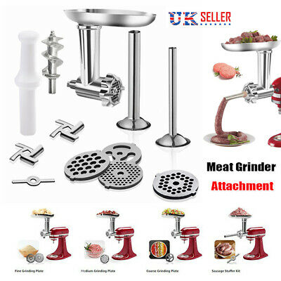 £19.97 • Buy Meat Grinder Attachment For KitchenAid Stand Mixers Food Sausage Stuffer Accs