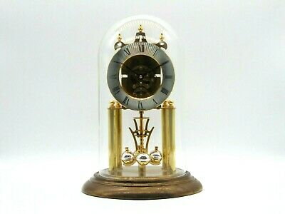 £8.50 • Buy Beautiful S. Haller Germany Unadjusted Mantel Clock With Glass Dome (AP160W)