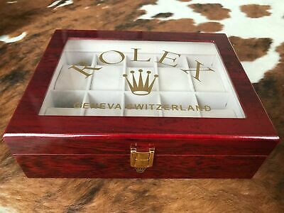 £69.99 • Buy Rolex Presidential Ltd Edition Watch Display Case / Box. Holds 10 Watches