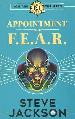 AU12.96 • Buy Fighting Fantasy: Appointment With F.E.A.R., Steve Jackson, New Book