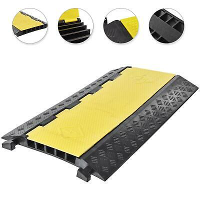 £40.29 • Buy 5 Channel Cable Protector Ramp Rubber Speed Bump Driveway Modular Speed Bumps