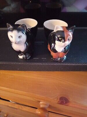 £7 • Buy Cat Egg Cups Quail Collection X 2