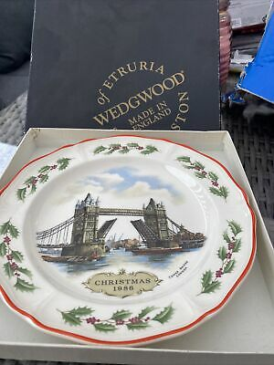 £6.75 • Buy Wedgwood The Queens Ware Christmas Plate 1986
