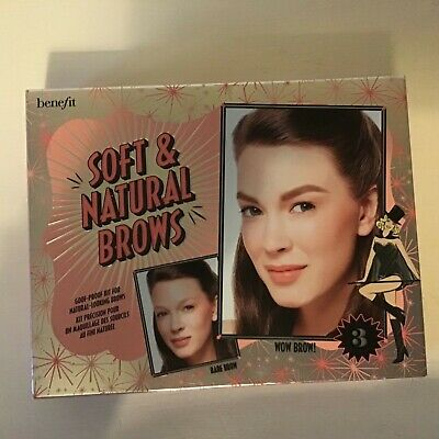 £19.99 • Buy Benefit Soft And Natural Brows Kit New Boxed Goof Proof Shade 2