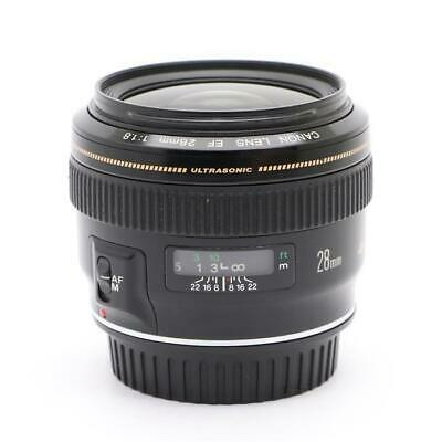 £468.37 • Buy Secondhand Side Dish Canon Ef28Mm F1.8 Usm Lens Interchangeable