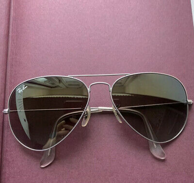 £55 • Buy Ray Ban Aviator Sunglasses Ladies With Case Size 58