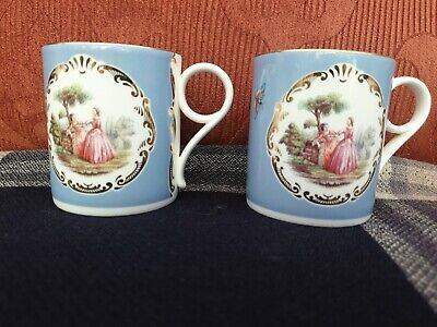 £5 • Buy 2 Wedgwood Heritage Rendezvous Mugs Butterfly Scenic 2nds Quality