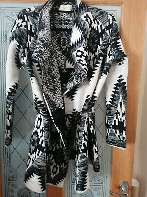£2.50 • Buy Belted Aztec Cardigan Small