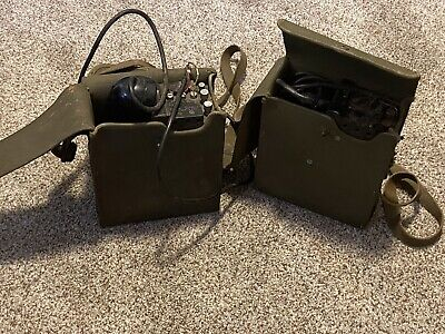 £181.52 • Buy WWII Military US Signal Corps US Army Radio Field Phone EE-8-w/ Canvas Case