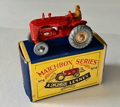 £46.03 • Buy Matchbox Series Miniature Toy Tractor Made In England Boxed