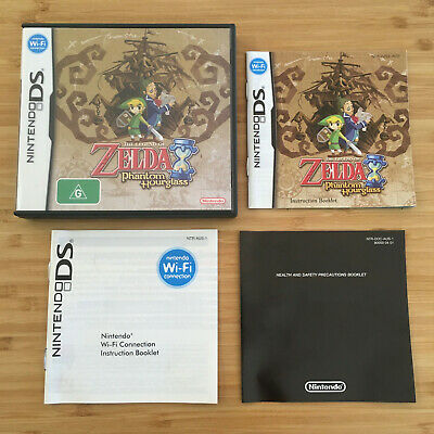 AU39.95 • Buy The Legend Of Zelda: Phantom Hourglass DS   Case & Manual Only: No Game Included