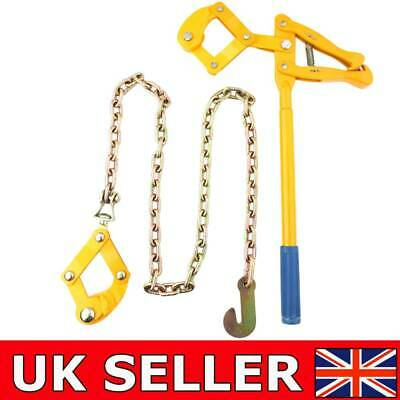 £52.89 • Buy 1.2M Heavy Duty Farm Fence Strainer Fencing Repair Wire Pulling Tool Metal Chain