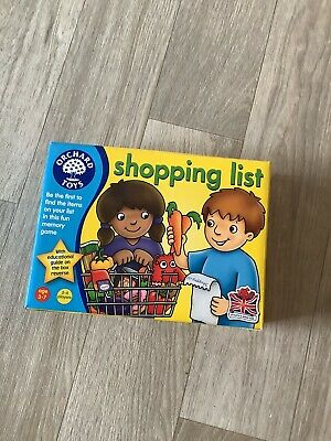 £2 • Buy Shopping List Game Orchard Toys