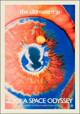 £5.85 • Buy 2001: A SPACE ODYSSEY 1968 The Ultimate Trip, Film Cinema Poster Wall Art Print