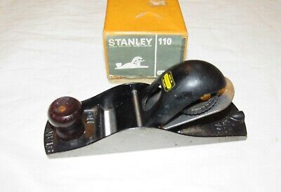 £6.50 • Buy Boxed Stanley No 110 Block Plane Vintage Woodworking Plane Tool Old Tool Plane