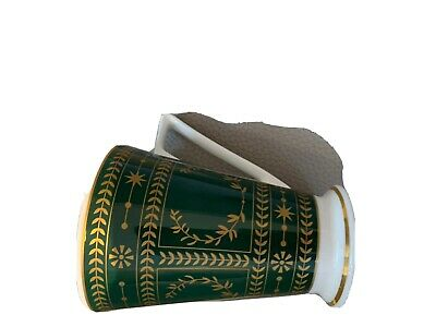 £0.99 • Buy Past Times Faberge 8149   Mug- Fine Bone China Green / Gold In Colour