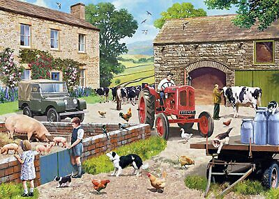 £16.49 • Buy Gibsons Life On The Farm 1000 Piece Jigsaw Puzzle