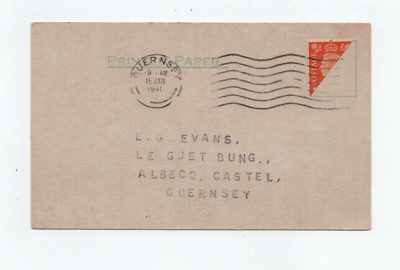 £6.99 • Buy Guernsey,  German Occupation Bisect On Card