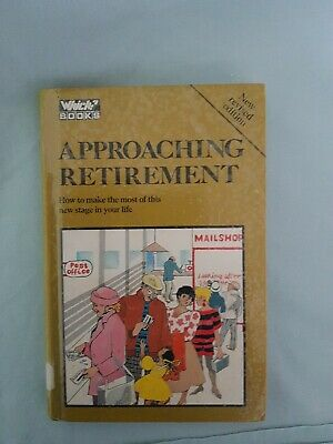 £1.99 • Buy Which Books  Approaching Retirement  Hardcover 1987