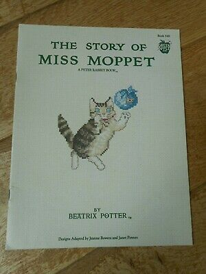 £18.10 • Buy Beatrix Potter The Story Of Miss Moppet Cross Stitch Chart Booklet - OOP