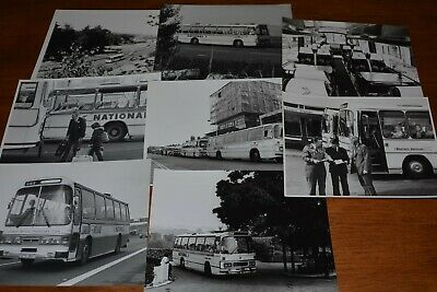 £8 • Buy 1979 National Express Coaches Promotional Photos X 8 Ref T79