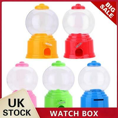 £6.39 • Buy Cute Sweets Mini Candy Machine Bubble Gumball Dispenser Coin Bank Kids Toy