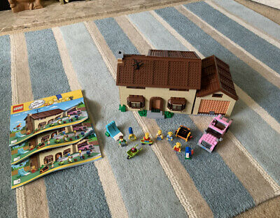 £96 • Buy LEGO The Simpsons The Simpsons House (71006) Complete! Rare And Retired Set!!