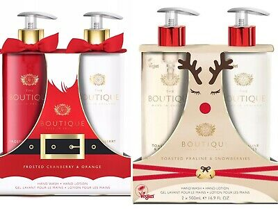 £16.94 • Buy Boutique Gift Set Gift For Her 2pc Hand Wash And Hand Lotion Women Ladies Vegan