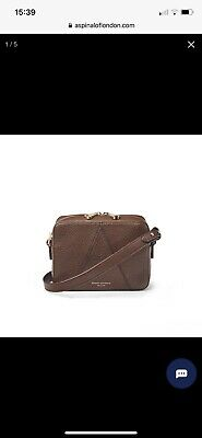 £110 • Buy Aspinal Of London Chestnut Leather Camera Bag. Used Once