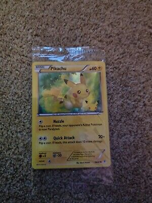£3.20 • Buy Pikachu 20th Anniversary Game Exclusive Generations Holo Promo Pokemon Card