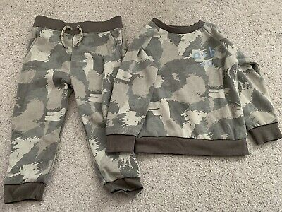 £0.99 • Buy Boys Outfit Matching Joggers Sweatshirt Camo 18-24 Months Primark