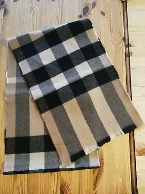 £68 • Buy NEW Burberry Unisex Wool Cashmere Camel Exploded Nova Check Scarf
