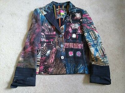 AU22.99 • Buy Gorgeous Save The Queen Wool Jacket Size 12