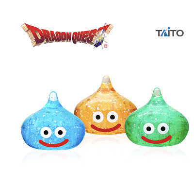 AU51.94 • Buy Dragon Quest AM Slime Clear Figure Set Of 3 Lame Version 0.8inch TAITO Japan NEW