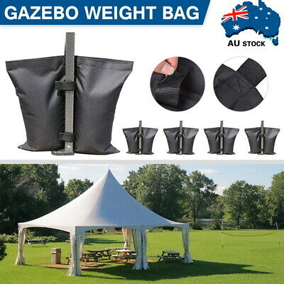 AU21.90 • Buy 4 PACK Garden Gazebo Foot-Leg-Feet Weights Sand Bags For Marquee Party Tent Set