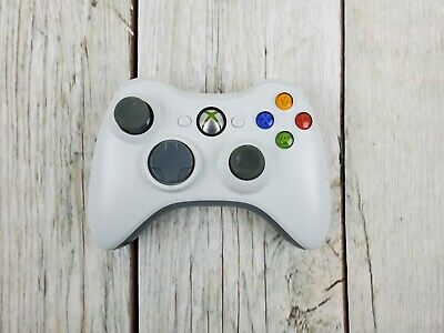 AU39 • Buy XBOX 360 Controller White Genuine XBOX360 Free Tracked Shipping Tested & Working