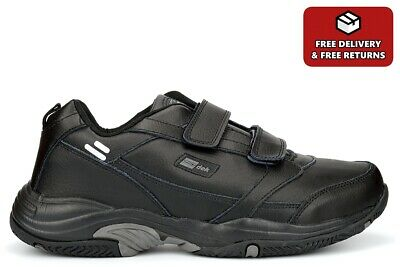 £26.99 • Buy Mens Wide Fit Trainers Mens Leather Trainers Wide Fitting Sizes 7-15 (E Fitting)