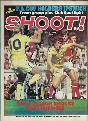 £3 • Buy SHOOT! - 7th October 1978 - Ipswich Town, Nottingham Forest, Wolves