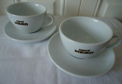 £5.99 • Buy 2 Caffe / Cafe Nero Cappuccino Cups & Saucers