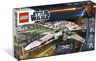 £8.50 • Buy LEGO Star Wars - 9493 -  X-wing Starfighter ** COMPLETE ** SEE DESCRIPTION **