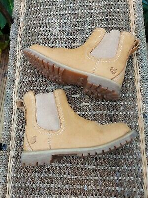 £16 • Buy Timberland Tan Leather Chelsea Boots Size Uk 5 Good Clean Condition