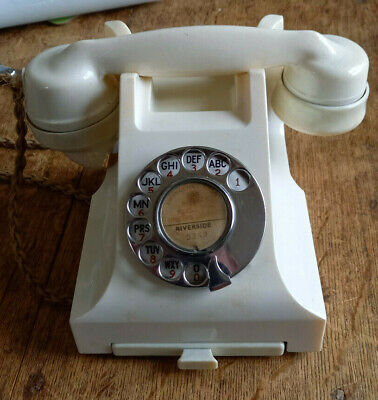 £240 • Buy Ivory Bakelite 332l Dial Telephone - Gpo Crested Drawer - Pl38/234