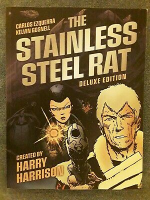 £10 • Buy The Stainless Steel Rat: Deluxe Edition By Harry Harrison (Paperback, 2021)