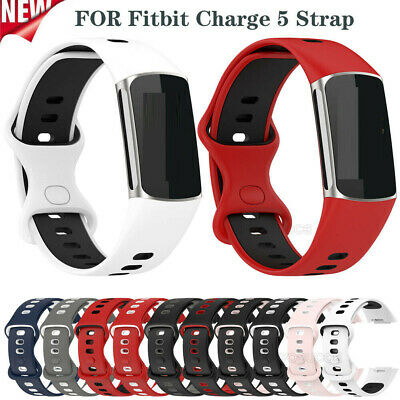 AU7.49 • Buy For Fitbit Charge 5 Watch Band Sport Breathable Wrsit Strap Replacement Bracelet