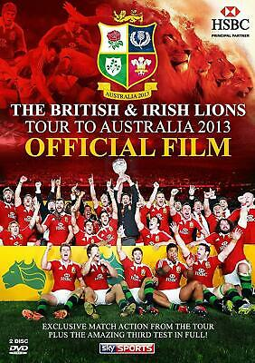 £2.75 • Buy 🤠 The British & Irish Lions 2013 - Official Film (DVD) 2013 (New & Sealed)