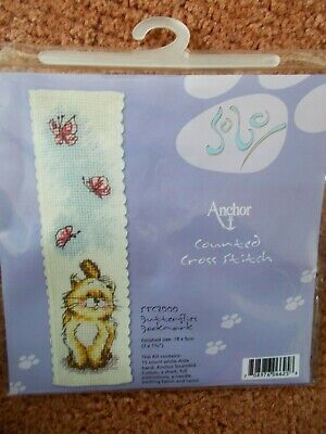 £3.29 • Buy Cross Stitch Kit Solo   Butterflies Bookmark   New By Anchor