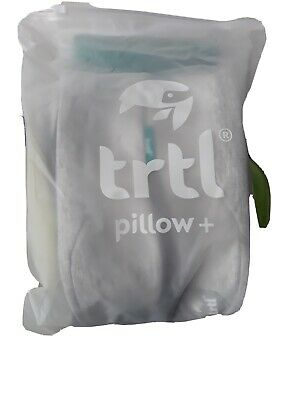 £25 • Buy New Trtl Travel Pillow + Adjustable With Carry Bag Blue & Charcoal Colour Avail.