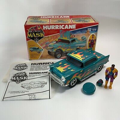 £36 • Buy Vintage 1980's Kenner M.A.S.K Toy Hurricane Vehicle + Figure Instructions BOX
